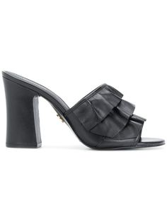 4bf81f08439 Shop Michael Michael Kors chunky heel mules
