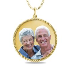 Capture your most heartfelt pictures forever on 10K or 14K pendants.  A gift that will be treasured!