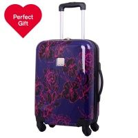 Tripp Express Autumn Flwr Hard Cabin Suitcase Grape/Rasp | luggage ...