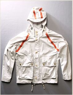 Jackets certainly are a very important component to every single man's wardrobe. Men require outdoor jackets for a number of circumstances and several climate conditions Fashion Details, Love Fashion, Mens Fashion, Parka Style, Outdoor Outfit, Hoodie Jacket, Work Wear, Sportswear, Nigel Cabourn