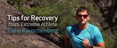 Dane Rauschenberg ran 52 marathons in 52 weekends. Check out his tips for recovery #fitfam