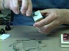 Técnica de las Tintas de Alcohol por RangerTim Holtz Adirondack Alcohol Inks.
