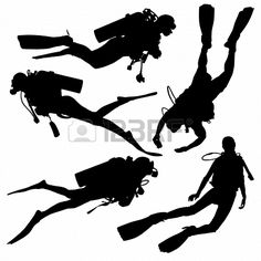 Buy Diving Silhouette by iamsania on GraphicRiver. Diving Silhouette on white background Hobbies For Couples, Hobbies For Women, Woman Silhouette, Silhouette Vector, Fairy Silhouette, Silhouette Design, Tattoo Fundo Do Mar, Scuba Diving Tattoo, Sketch Manga