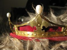 One of the Baronial crowns made by Countess Jovi Torstensdottir for the Barony of Gotvik, Principality of Nordmark, Kingdom of Drachenwald