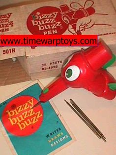 Bizzy Buzz Buzz drawing pen. I also had a couple of these. They were a blast!