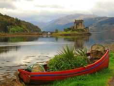 Eilean Donan Castle - Scotland; At the confluence of Loch Duich, Loch Long and Loch Alsh . by ralph.stewart, via Flickr