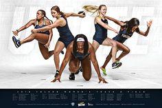 2018 Toledo Track & Field Poster on Behance Sports Art, Sports Women, Sports Posters, Nike Poster, Nike Quotes, Sports Graphic Design, Cross Country Running, Running Training, Running Tips