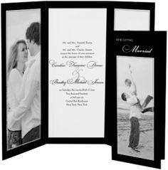 Vision of Love - Tri-fold Wedding Invitation by MagnetStreet