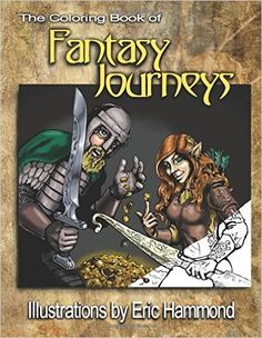 A wonderful coloring book featuring the fantasy art of noted illustrator Eric Hammond.