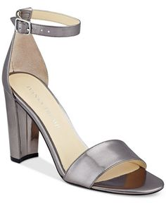 Ivanka Trump Emalyn Block-Heel Sandals