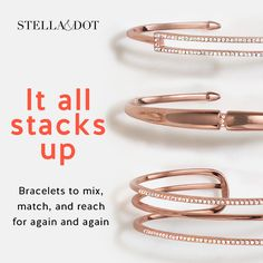 Rose gold jewelry is gorgeous! Adding to my accessories wish list.