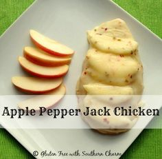 Apple Pepper Jack Chicken