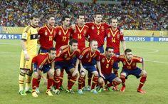 El once titular de España el día que se enfrentó a Uruguay en Recife en la Copa Confederaciones 2013 #seleccionespanola #LaRoja #diariodelaroja