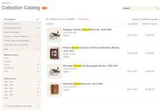 New: Collection Catalog «  MyHeritage Blog