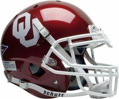Oklahoma Sooners Schutt XP Authentic Full Size Football Helmet