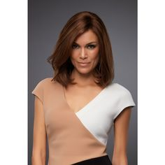Carrie Petite by Jon Renau is a lace front human hair wig in a medium length cut. Medium Length Cuts, Jon Renau, Natural Looks, Human Hair Wigs, Lace Wigs, Wig Hairstyles, Hair Lengths, Carry On, Popular