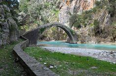 Ναύπακτος Garden Bridge, Greece, Paradise, Outdoor Structures, Sky, Travel, Beautiful, Heaven, Heavens