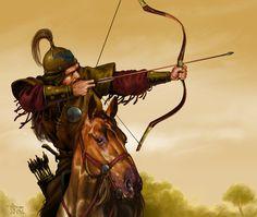 Ten Bulls Tribe raider by tikos on DeviantArt