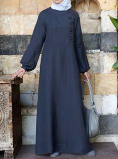 Aqila Linen Dress - Abayas & Dresses - Women