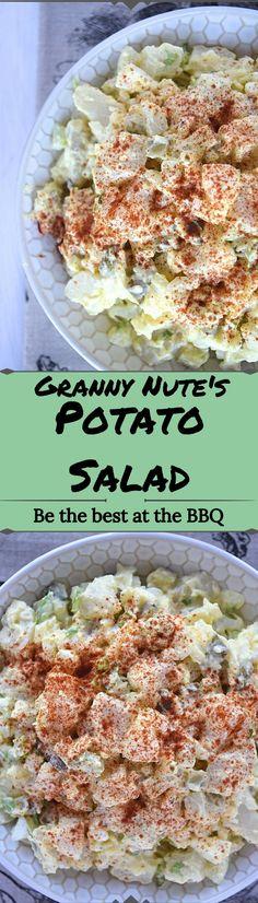 Granny Nute's Potato Salad - A Stray Kitchen