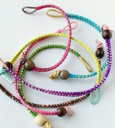 Colorful Leather Friendship Bracelets