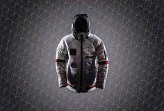 Brave Winter Like an Astronaut in The Spacelife Jacket