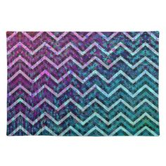 SOLD Placemat Retro Zig Zag Chevron Pattern! #Zazzle #Placemat #Retro #Zig #Zag #Chevron #Pattern http://www.zazzle.com/placemat_retro_zig_zag_chevron_pattern-193849335648704771