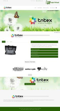Web Site da TNTEX Embalagens. Desenvolvido com HTML5, CSS3, JavaScript, PHP, Banco de dados MySql. Agosto de 2015.