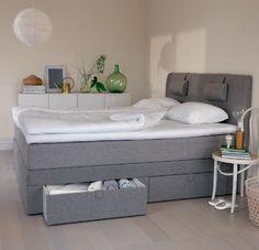 Essens kontinentalsäng med förvaring 180 - Ekens - Dennys Home - Just nu med 20% rabatt på säng och bäddmadrass: http://www.dennyshome.se/kampanjer #ekens #ekenssäng #säng #sängar #sovrum #kontinental #kontinentalsäng