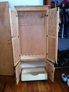Gun Cabinet Do It Yourself Home Projects From Ana White