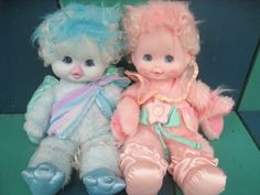 [ID: Wonder Whims by Marvin Glassin/Panosh Group] Help identify plushie/doll late Vintage Toys 80s, Retro Toys, Vintage Dolls, Childhood Memories 90s, Childhood Toys, Bjd Dolls, Doll Toys, Cute Cartoon Characters, Cute Stuffed Animals