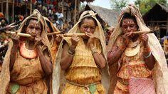 Kundu and Digaso Festival, Daga Village, Lake Kutubu area, Southern Highlands Province, Papua New Guinea. September 2013. Photo by Don Niles.