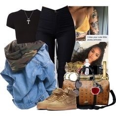 billie jean by idc-baby on Polyvore featuring NIKE, MCM, Venessa Arizaga, Michael Kors and Getting Back To Square One