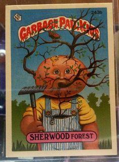 1986 Topps Garbage Pail Kids Trading Card 243b by LEATHERGLACIER, $2.00