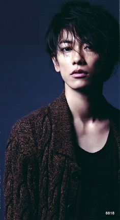 Sato Takeru 2012 Men's Non-no 9