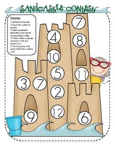 counting and number recognition game