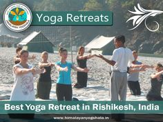 #Yoga_Retreats_in_Rishikesh  We not only has some of the best yoga schools in India but we also provide an idyllic holiday destination where peace and spirituality reign.Live Date: 1st April to 10th April at Anand Lok, 10th april to 15 april to the Himalayas visithttp://himalayanyogshala.in/yoga-retreat-in-rishikesh-india.html