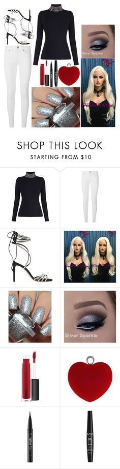 """""""Elli: January 1, 2018"""" by disneyfreaks39 ❤ liked on Polyvore featuring Alexander Wang, Burberry, Alexandre Vauthier, Dimepiece, John Lewis, WithChic, Kat Von D and NYX"""