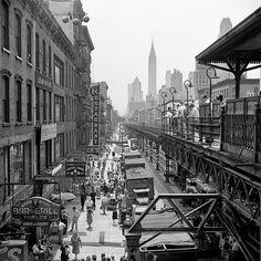 new york city scene | 1953 | #vintage #1950s #newyork