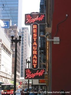 The Berghoff restaurant in Chicago, Illinois, a true Chicago tradition.