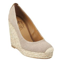 Nine West - Skipnjump. This will make quite a versatile summer shoe, one I can wear with practically everything. But the best part, I think, is its price tag. I think it's just plain silly to pay so much for an espadrille shoe, especially when one lasts for only a season anyway.