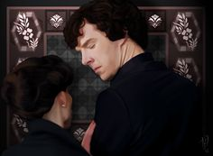 You flirted with Sherlock Holmes? by Nero749.deviantart.com on @deviantART