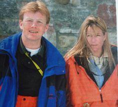 het net verloofde stel, samen op de ski's in Zwitserland, het appartement van F. Heineken.