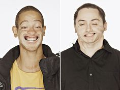 Funny Wind Tunnel Portraits