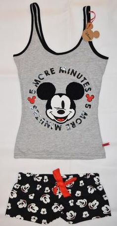Jungle Book Disney Ladies PJS Women/'s Vest /& Short Pyjama Sets Primark Cami Top