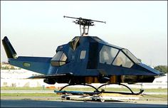 """American Aircraft-modified Bell UH-1 """"Penetrator"""" conversion, turning the Huey into a Cobra-Apache style gunship."""