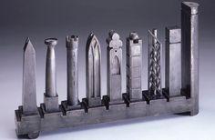 Architectonic Menorah by Richard Meier, $1195