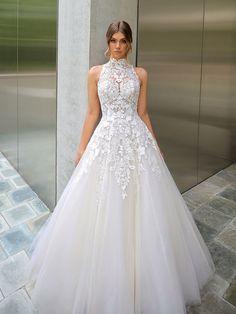 Relaxed Wedding Dress, Top Wedding Dresses, Wedding Dress Shopping, Lace Wedding Dress, Bridal Dresses, Wedding Gowns, Lace Dress, Dress Images, Marie