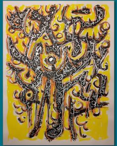 ANTLEROSION Acrylics on paper 50*65cm . #artcollector #artislife #abstractcalligraphy #lyricalabstraction #informalism #automaticwriting #zenart #automaticdrawing #abstractexpressionism #symbol #acrylicart #informel #mystical #minimalart #doodleart #newartseen #firstlookart #flaming_abstracts #yellowandblack #logogram #ideogram #leiden Automatic Drawing, Zen Art, Leiden, Acrylic Art, Doodle Art, Abstract Expressionism, Acrylics, Mystic, Calligraphy