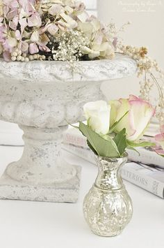 ♥I have a planter just like this - makes me think of using it indoors!